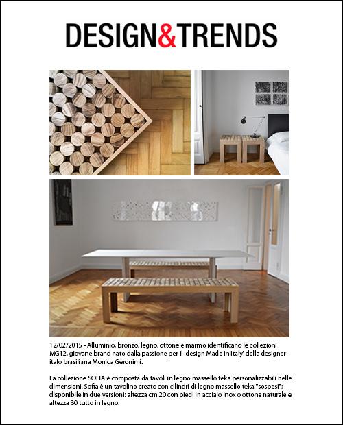 DESIGN & TRENDS